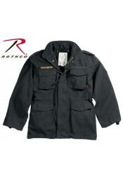 Винтажная куртка М-65 черная 8608