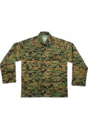 Рубашка BDU цифровой лесной камуфляж 8690