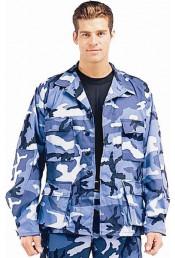 Рубашка B.D.U. небесно-синий камуфляж 8882
