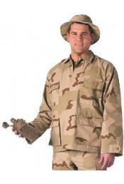 Рубашка B.D.U. трехцветный пустынный камуфляж 8960
