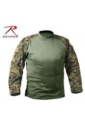 Боевая рубашка лесной камуфляж 90005