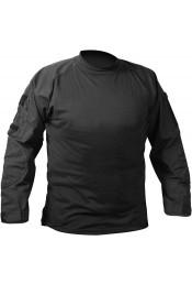 Боевая рубашка черного цвета 90010