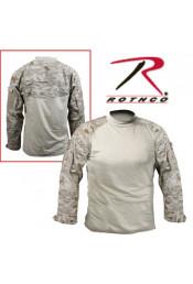 Боевая рубашка пустынный цифровой камуфляж 90020