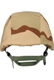 Чехол для шлема трехцветный пустынный камуфляж 9355