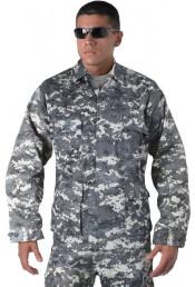 Рубашка BDU приглушенный цифровой камуфляж 9630