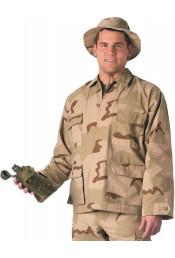 Рубашка B.D.U. трехцветный пустынный камуфляж 9810