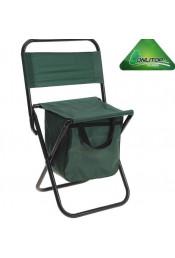 Зеленый туристический стул