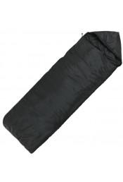 4-х слойный спальный мешок эконом черный