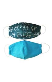 Набор детских защитных тканевых масок 2 шт.